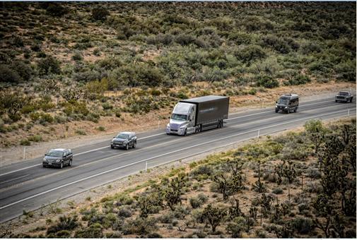 Daimler Trucks drives first autonomous truck on public roads
