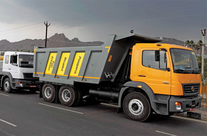 BharatBenz trucks are BS IV compliant