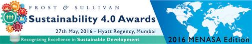 Frost & Sullivan launch the 7th edition of Sustainability 4.0 Awards
