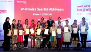 Mahindra Saarthi Abhiyaan Ceremony