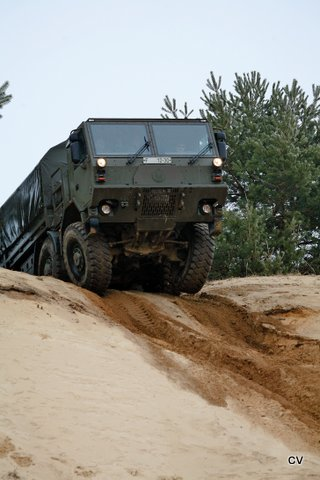 Tatra offers Force 8×8 to India