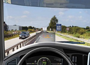 Continental develops digital head-up display for trucks and buses