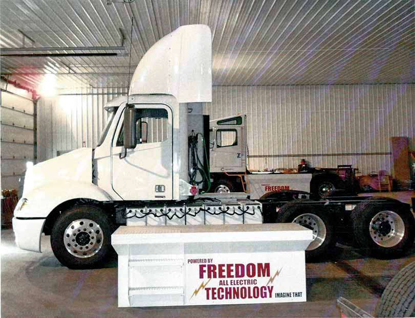 Battery powered trucks set to be a reality