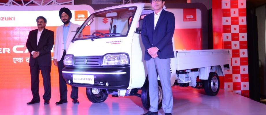Maruti Suzuki launches Super Carry in Gujrat