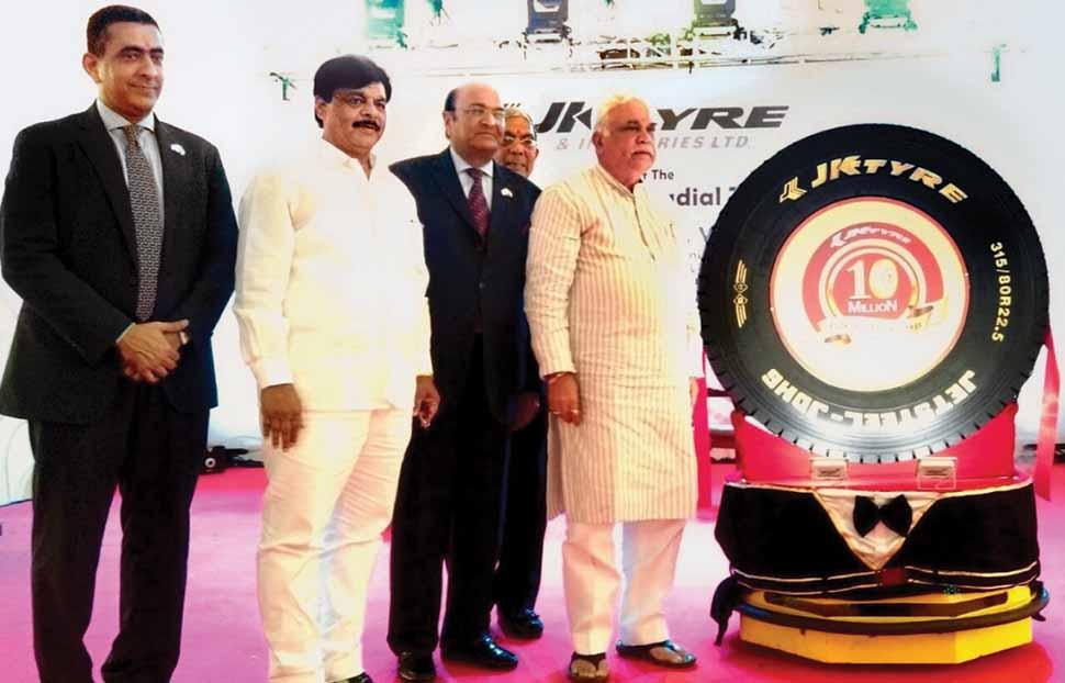 JK Tyre rolls out 10 millionth TBR