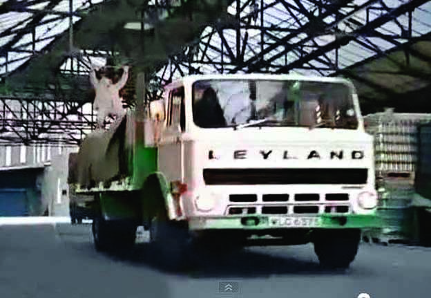 Leyland Boxer to the rescue