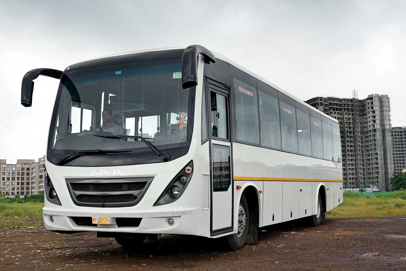 Isuzu FR 1318, the premium coach