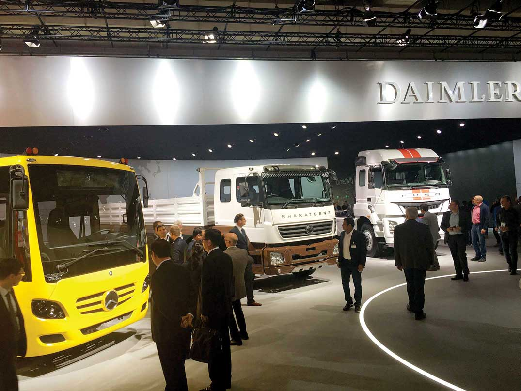 DICV looks at Middle East for buses