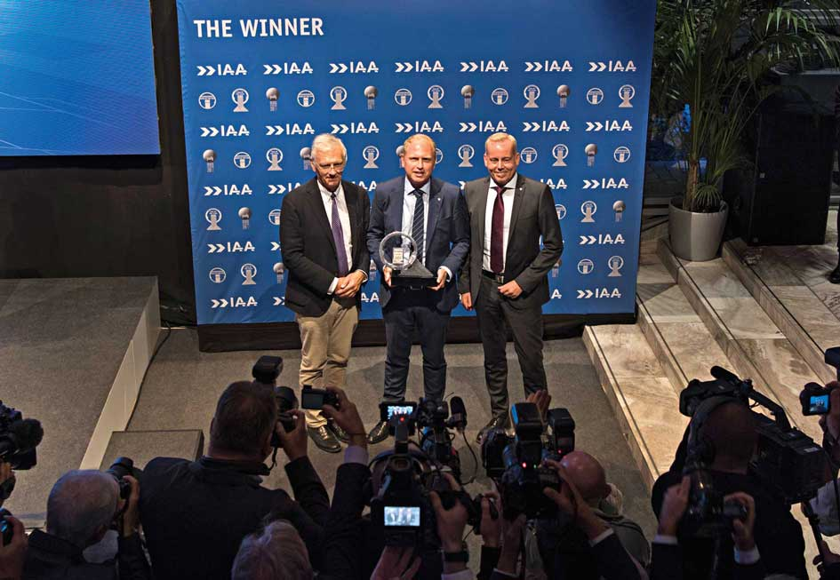 Scania S series is the International Truck Of the Year
