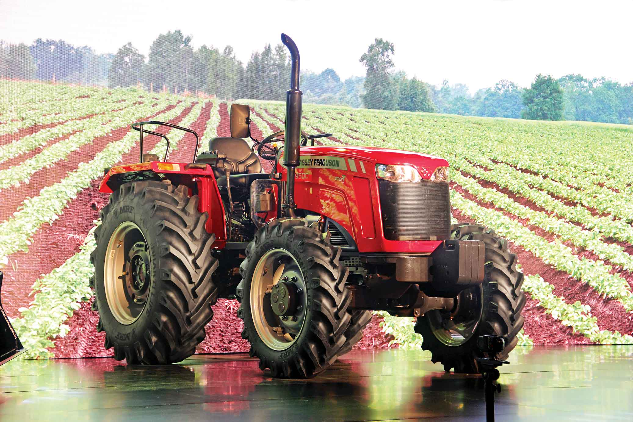 Smart tractors from TAFE