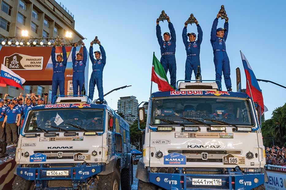 Kamaz wins Dakar Rally 2017