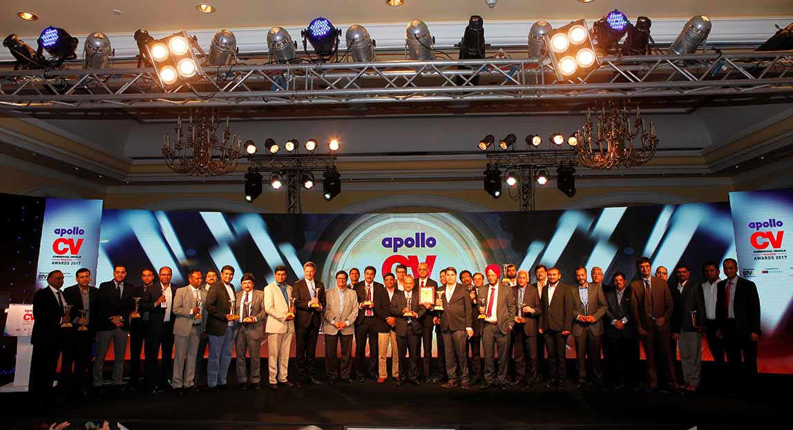 CV industry triumphs at the Apollo CV awards 2017