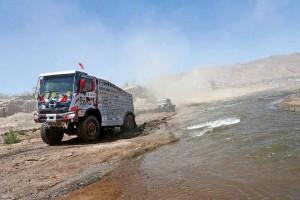 DAKAR RALLY 2017: PARAGUAY-BOLIVIA-ARGENTINA SS 10 TEAM HINO