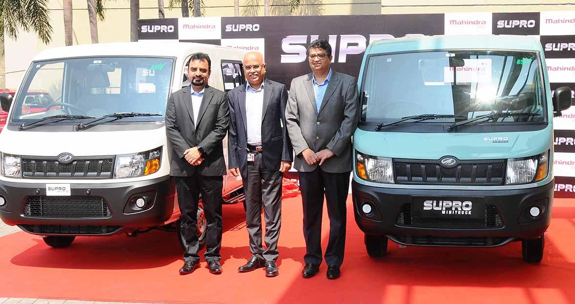 Mahindra Supro springs seven variants