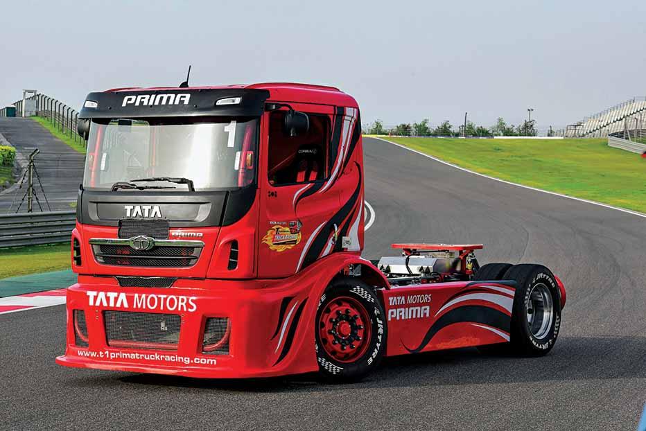 Tata Prima T1 truck racing fever
