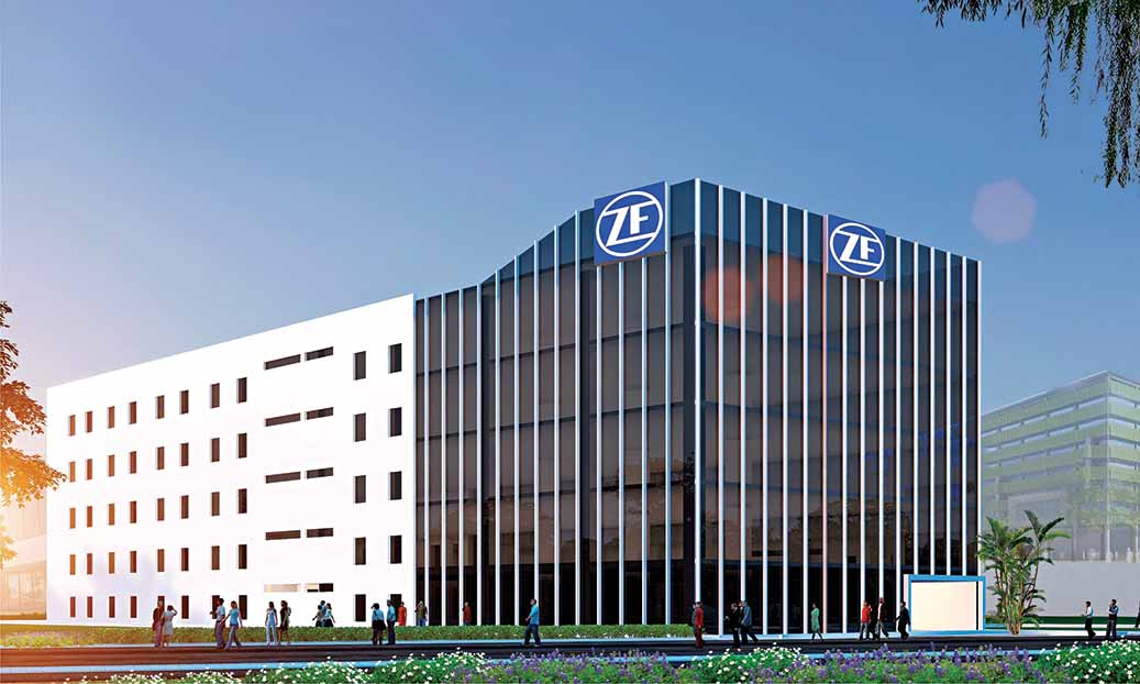ZF technology centre in India