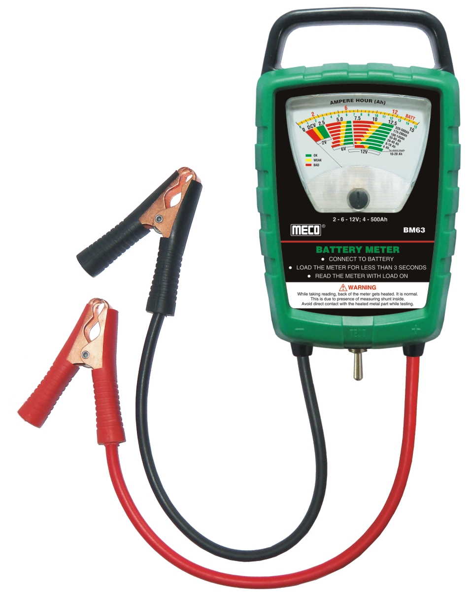 Battery system meter from Meco