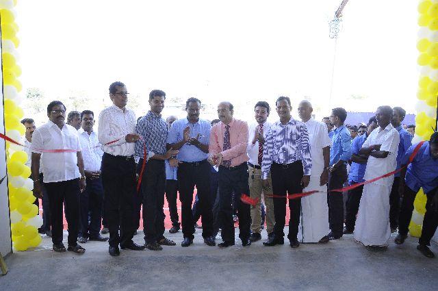 JK Tyre commissions truck wheel centre at Karur