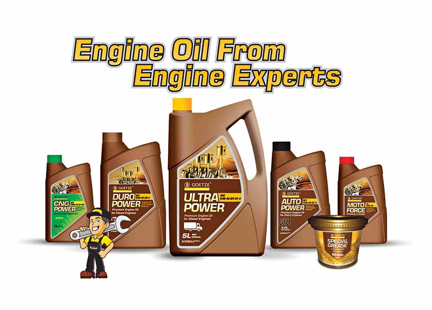 Goetze engine oil from Federal-Mogul