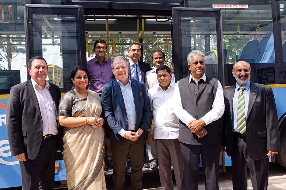 Volvo bus supply to BMTC