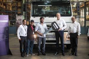 MAN Trucks India crosses the 25,000th mark copy