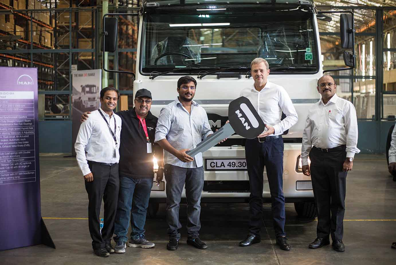 MAN Trucks India crosses the 25,000th mark