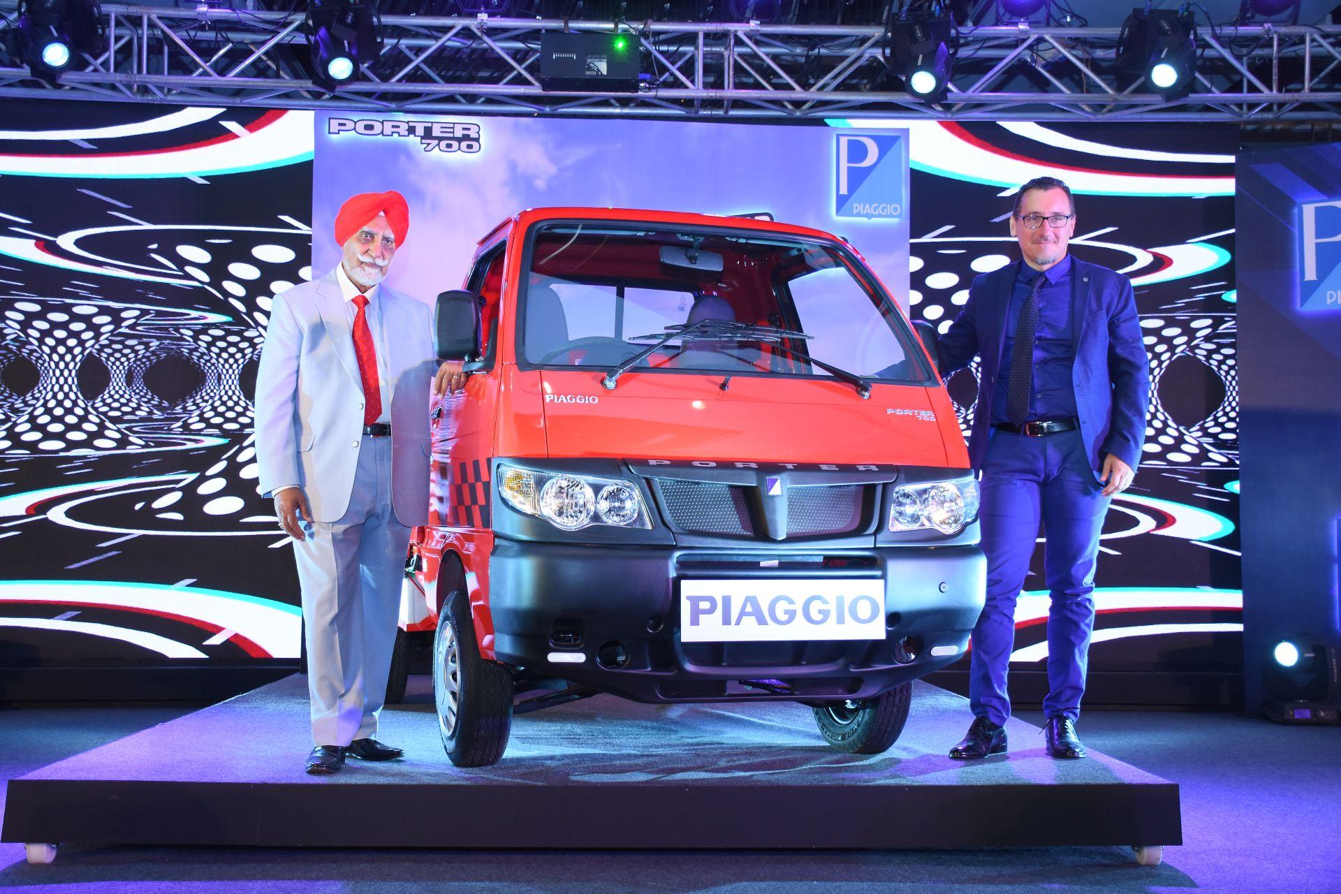 Piaggio launches the next generation Porter 700