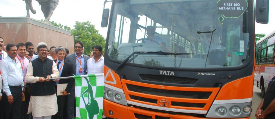 Tata Motors launches India's first Bio-CNG bus