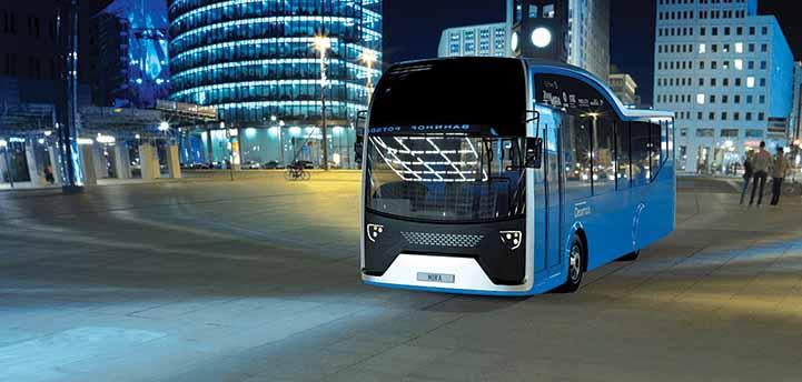Dearman hybrid bus completes trials