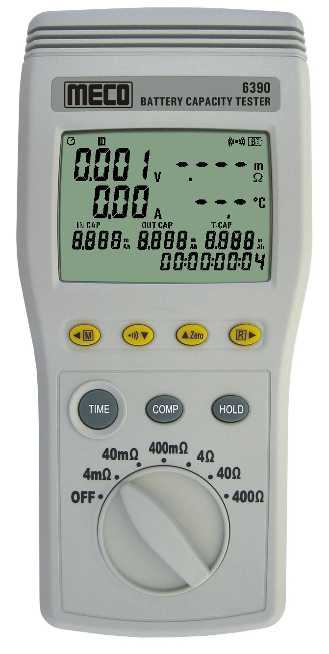 Battery capacity tester from Meco