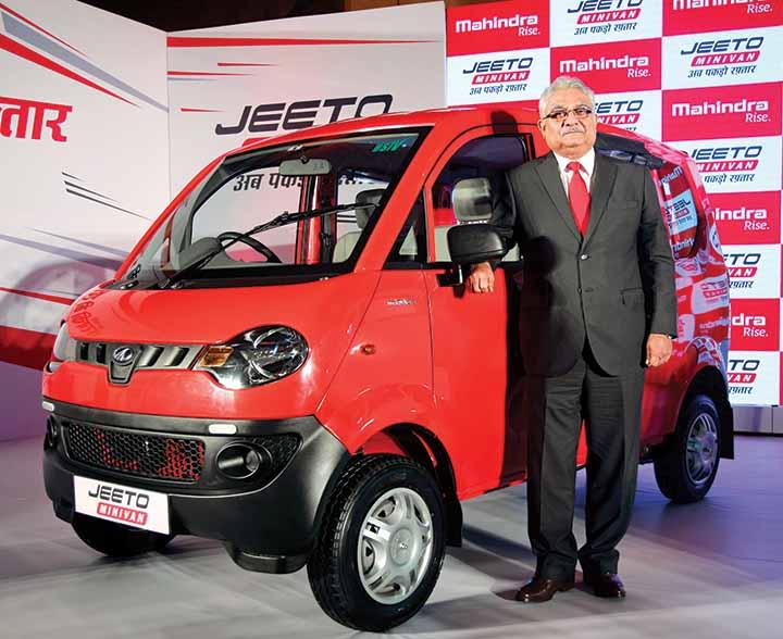 Mahindra Jeeto Minivan