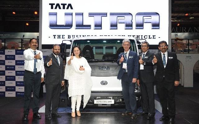 Tata Motors unveils the Ultra light trucks at Futuroad Expo 2017