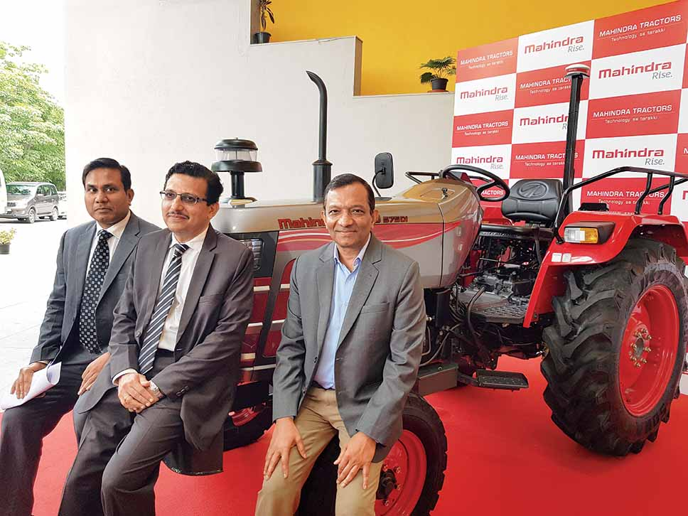 Mahindra unveils autonomous tractor