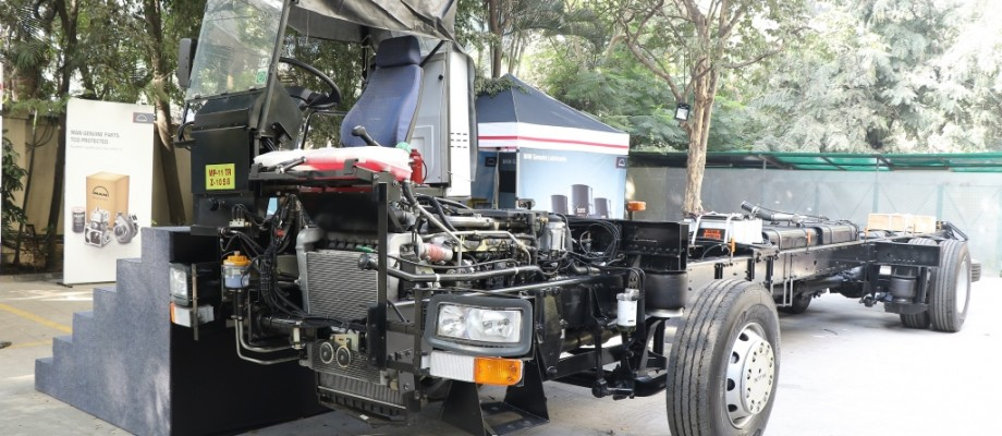 MAN unveils the new CLA BSIV bus chassis range
