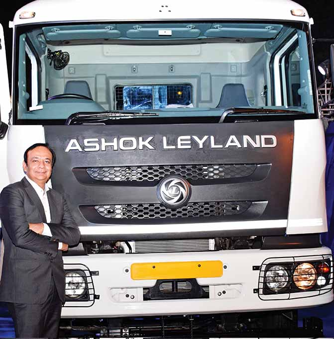 Ashok Leyland Captain Haulage and 3718 Plus