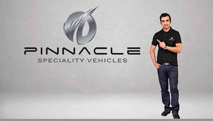 Gautam Gambhir is Pinnacle brand ambassador