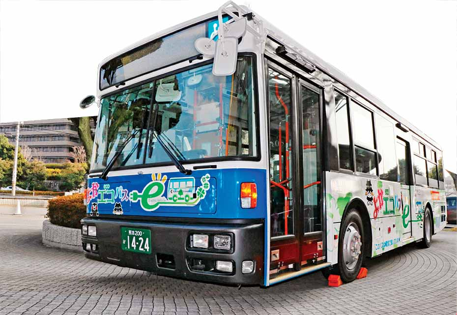 Nissan Leaf tech for electric bus