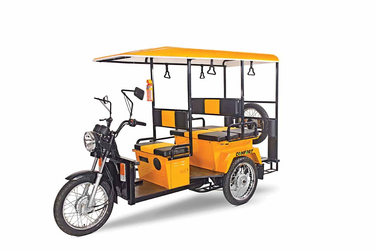 New Lohia e-rickshaw