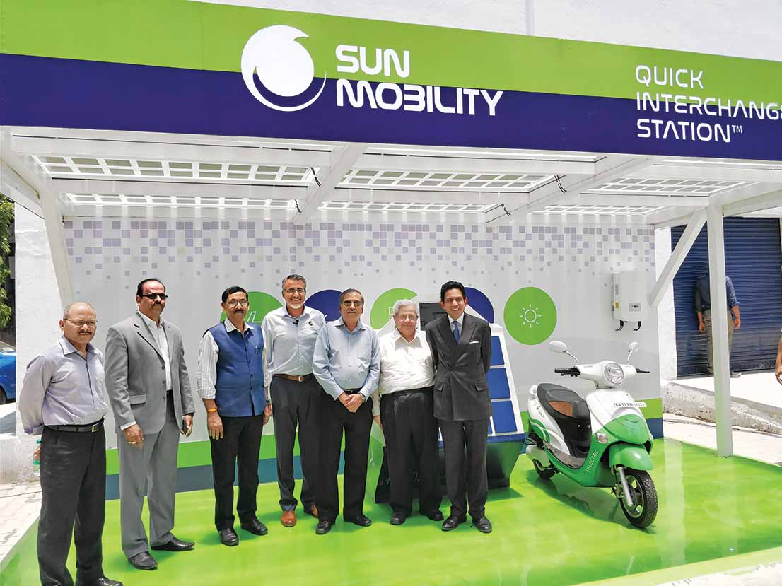 Smart mobility solution from SUN |