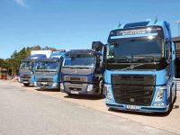 Alternate fuel Volvo trucks