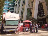 Google Home rides a Tata truck