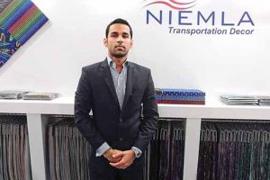 New age seat fabrics from Niemla