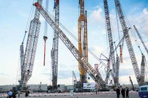 Cranes highlight Bauma 2019