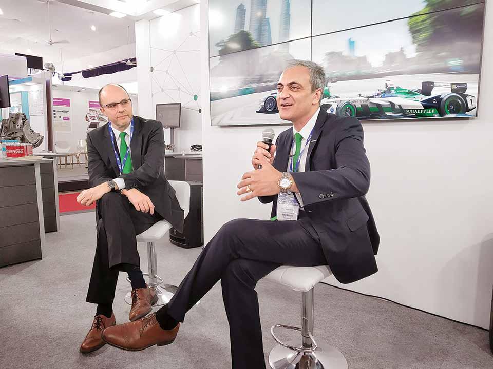 Schaeffler eyes growth in clean energy solutions