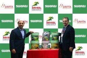 Savita Oil Technologies renews its commitment to Swaraj Tractors