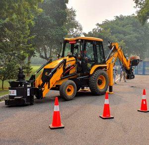 JCB, CSIR-CRRI jointly develop pothole repair machine