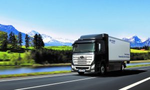 Hyundai Fuel Cell truck is set to hit the roads in Switzerland