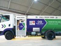 Doorstep fuel delivery