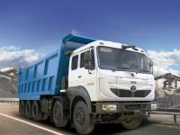 Tata Motors introduces India's largest tipper truck, the Signa 4825.TK