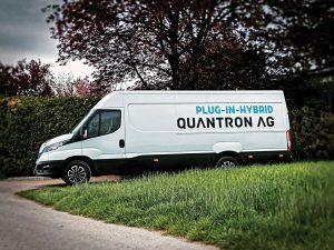 Plug-in hybrid  van Quantron